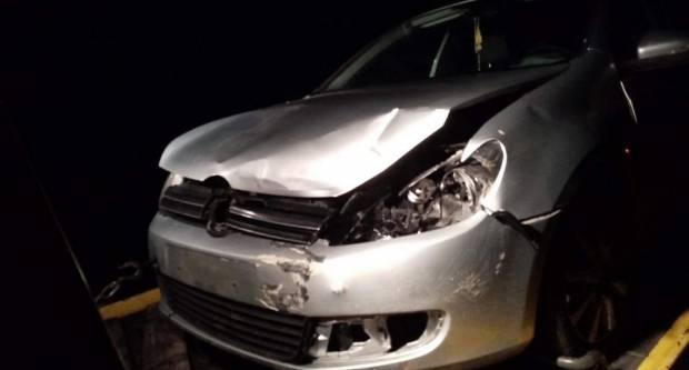 Malonogometaši Broda 035 na putu u Osijek doživjeli prometnu nesreću, na sreću nitko nije ozlijeđen