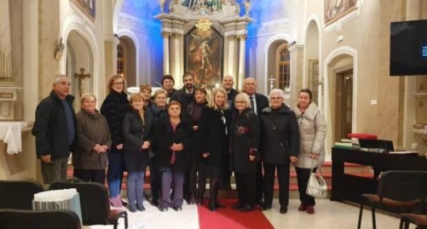 Održana ʺVukovarska večerʺ u Cerni i prikazan film ʺMedicinske sestre Grada Lipika u Domovinskom ratuʺ