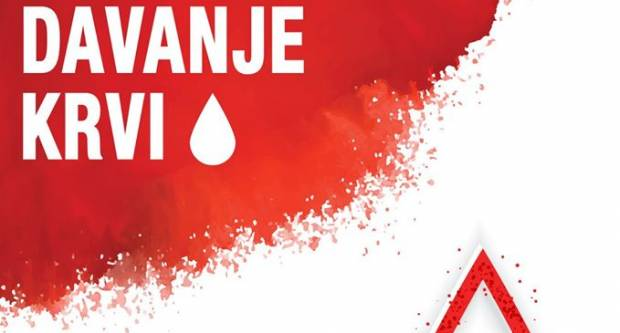 Crveni križ Sl. Brod sa Strojarskim fakultetom sutra organizira dobrovoljno darivanje krvi