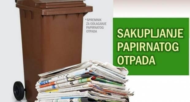 Raspored odvoza starog papira na području Grada Pakraca