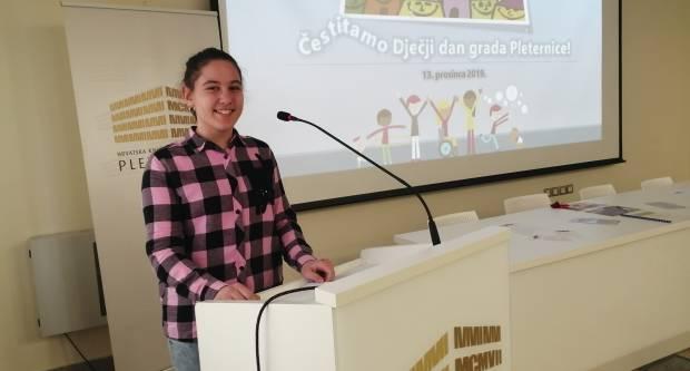 Danas je održana druga svečana sjednica Dječjeg gradskog vijeća Grada Pleternice