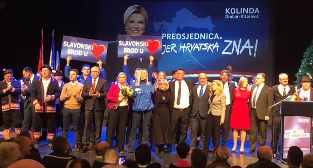 Oko 750 Brođana dalo je podršku sadašnjoj, ali za njih i budućoj predsjednici