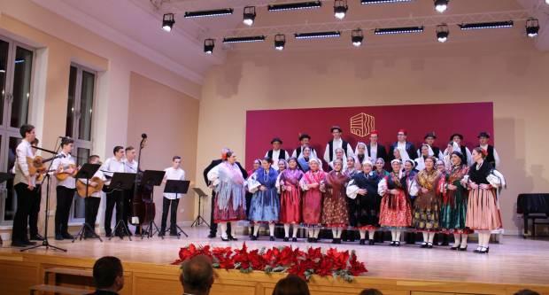 """Božićni koncert GKUD-a Požega u Požegi pod nazivom """"Preveliku radost navišćujem vama"""""""