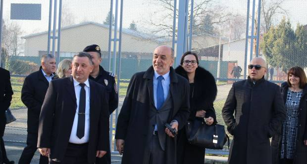 Danas je u kaznionici u Požegi svečano otvoren novi zatvoreni Odjel za muške zatvorenike