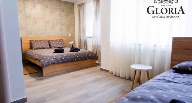 Potpuno nove Gloria Rooms za dnevni odmor ili noćenje