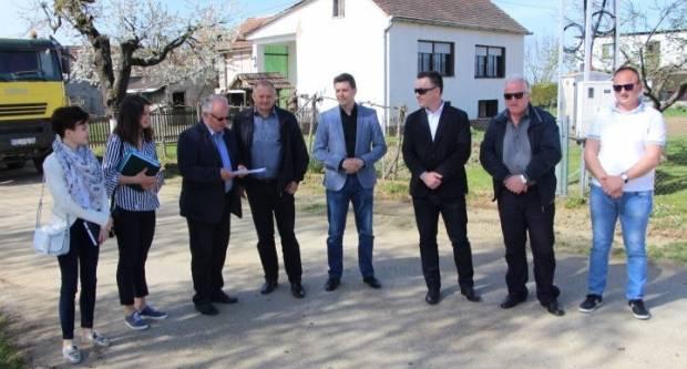 Milijunski infrastrukturni radovi na području Općine Jakšić