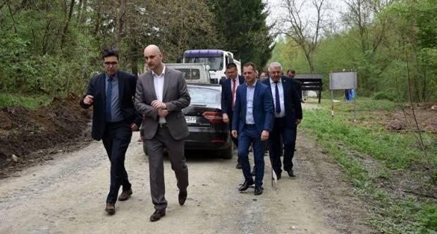 """Krenula rekonstrukcija ceste Slatinski Drenovac – Jankovac u sklopu projekta """"Geo priče UNESCO geoparka"""""""