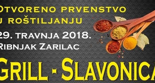 Otvoreno prvenstvo u roštiljanju -ʺGrill Slavonicaʺ- 29.4. u Zarilcu
