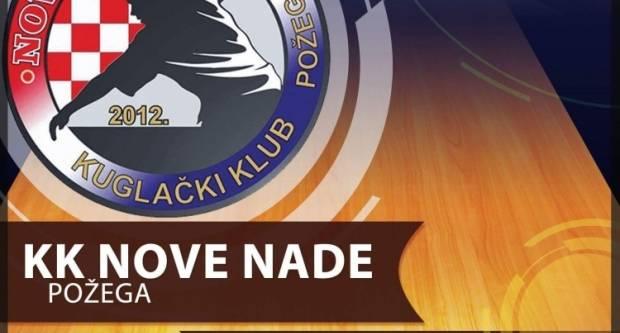 KK Nove nade protiv KK Medveščak 1958 (Zagreb) 21. travnja u Požegi