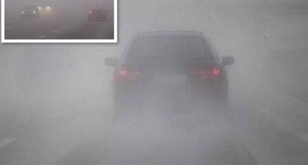 VOŽNJA U MAGLI: Nemojte se orijentirati po svjetlima vozila ispred vas!