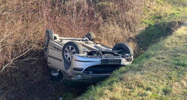 Prometna nesreća između Čaglina i Kneževaca, jedna osoba ozlijeđena