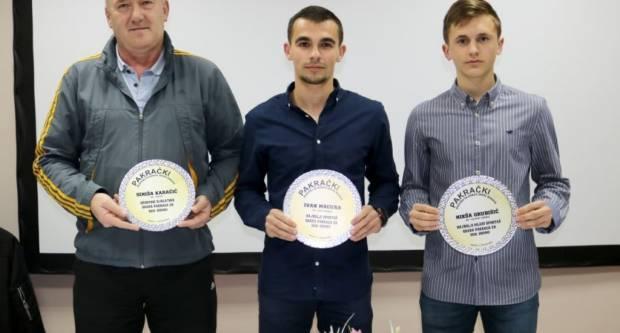 IZBOR SPORTAŠA GRADA PAKRACA ZA PROŠLU GODINU: Najboljima nagrade u tri konkurencije