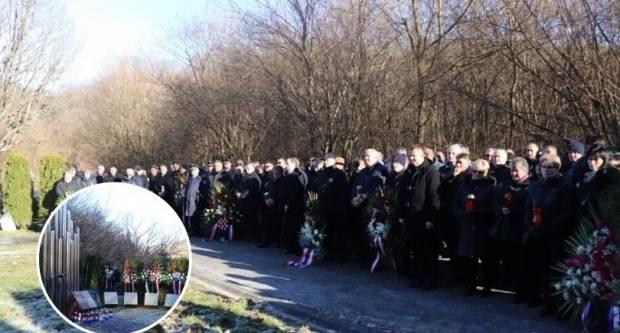 Sjećanje na poginule hrvatske branitelje kod Brusničkog mosta