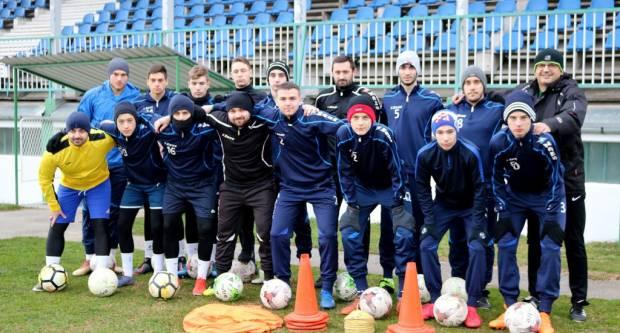 Na gradskom stadionu u Pakracu, Hajdukovci započeli zimske pripreme