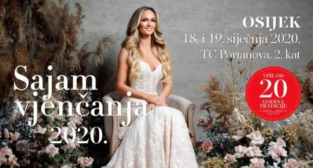 Sajam vjenčanja stiže u Osijek 18. i 19. siječnja 2020. godine!