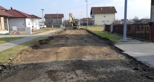 U tijeku su radovi na modernizaciji ceste u Branimirovoj ulici