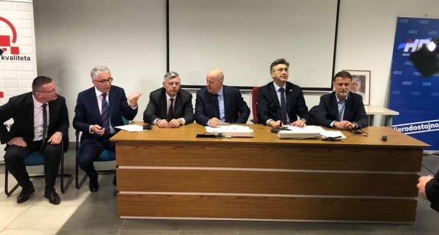 Jučerašnji posjet Plenkovića nije ništa drugo nego predizborni skup za unutarstranačke izbore