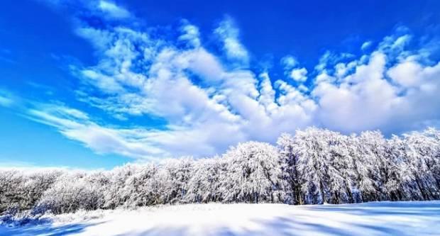 Pogledajte ove bajkovite snježne prizore na Papuku