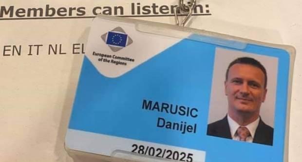 Župan Marušić još pet godina bit će u Bruxellesu