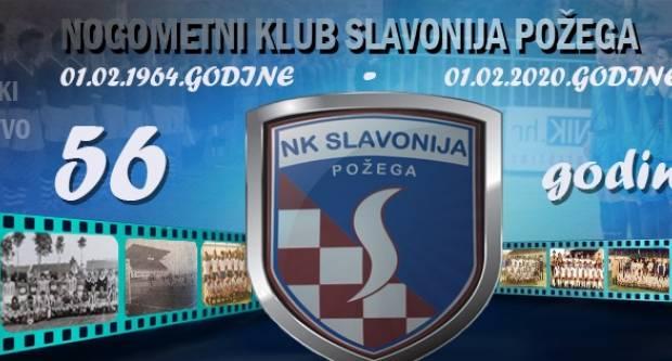 56-godina NK Slavonije iz Požege - Sretan rođendan Plavima s Orljave