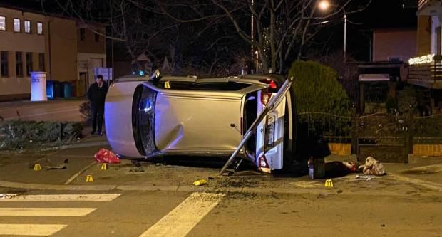 U tri prometne nesreće, tri osobe teško ozlijeđene
