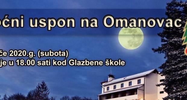 Planinarsko društvo Psunj i ove godine organizira noćni uspon na Omanovac