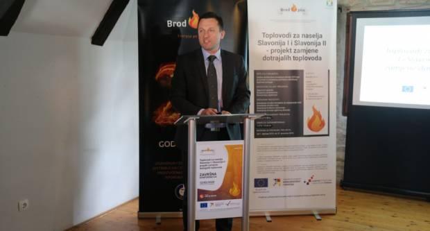 Održana završna konferencija projekta zamjene dotrajalih toplovoda u naseljima Slavonija I i Slavonija II