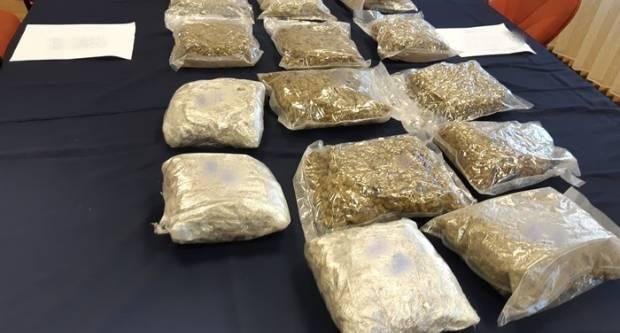 Zaplijenjeno je 233.794,39 grama marihuane, 8080 komada lijekova sa liste droga, 554,06 grama amfetamina, 374 grama kanabis...