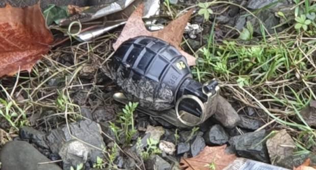 U Novoj Gradiški kod Petrola pronađena ručna bomba