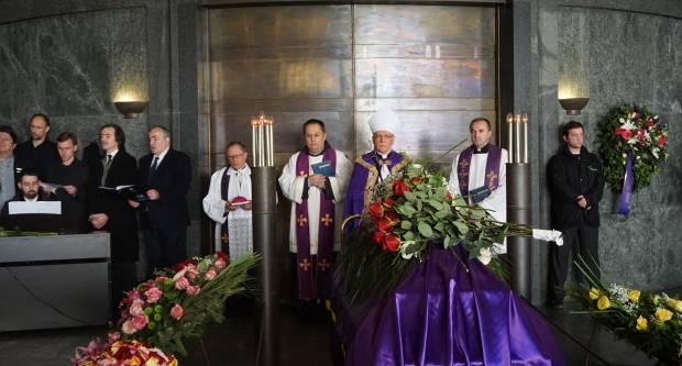 Sprovod maestra Vladimira Kranjčevića predvodio požeški biskup Antun Škvorčević