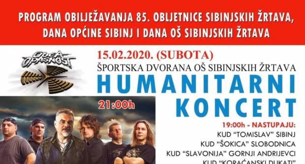 U susret Danu općine, večeras humanitarni koncert ʺOpće opasnostiʺ