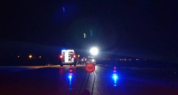 Teška prometna nesreća, teško ozlijeđeni muškarac i žena