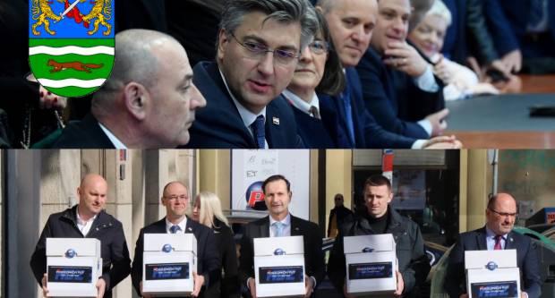 Plenkovićev i Kovačev tim predali potpise, evo koliko su skupili u Požeško-slavonskoj županiji