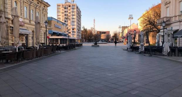 Ovako je danas izgledao grad