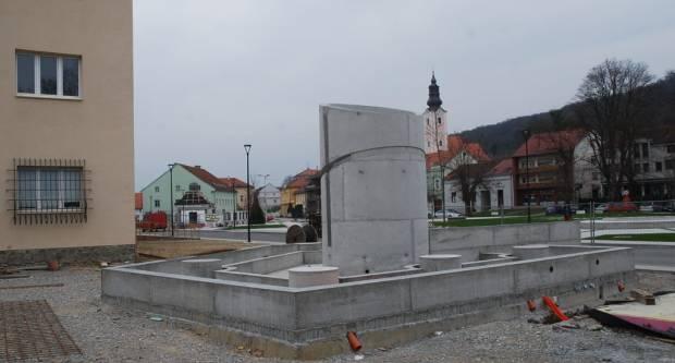Završetak spomenika hrvatskim braniteljima u Pakracu očekuje se u svibnju