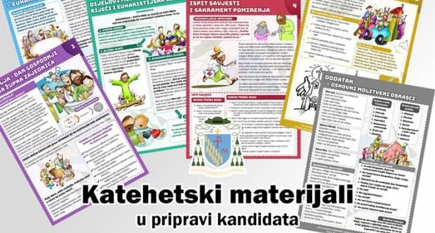 Katehetski materijali u pripravi kandidata za prvu svetu Pričest i svetu Potvrdu
