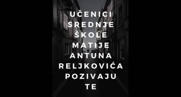 Učenici SŠ Matije Antuna Reljkovića poslali poruku