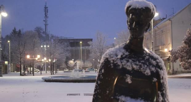 Zimska idila u Slavonskom Brodu