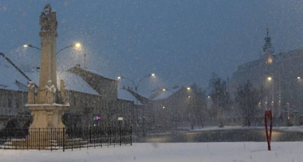 Šetnja snježnom Pleternicom i Požegom za vrijeme koronavirusa, 24.3.2020.