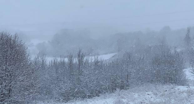 Danas oblačno uz kišu i snijeg