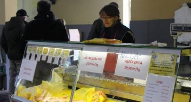 Dozvoljen je rad specijaliziranim trgovinama u sklopu tržnica