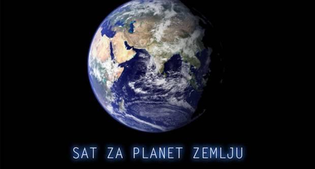 """Grad Slavonski Brod i ove godine podržao WWF-ovu akciju """"Sat za planet Zemljuʺ"""
