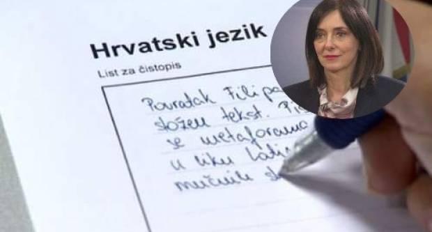 DIVJAK O DRŽAVNOJ MATURI: Esej iz hrvatskog jezika se odgađa