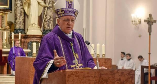 Pismo biskupa Škvorčevića o proslavi Velikog tjedna