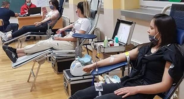 Požežani u tri dana dali 238 doza krvi
