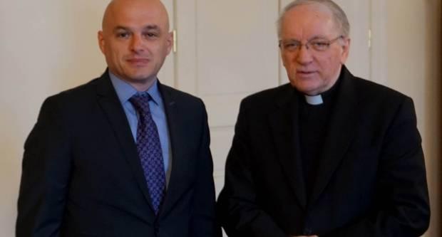 Biskup primio požeškog gradonačelnika Puljašića