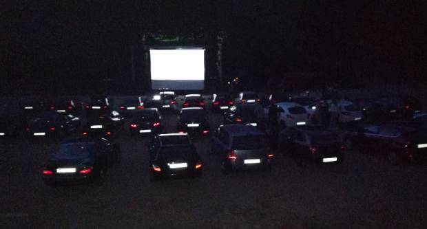 Kino u prirodi, održano prvo drive-in kino u našoj županiji
