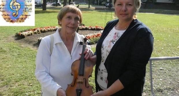 Brođanka Vesna Mateić darovala je svoju violinu Glazbenoj školi u Slavonskom Brodu
