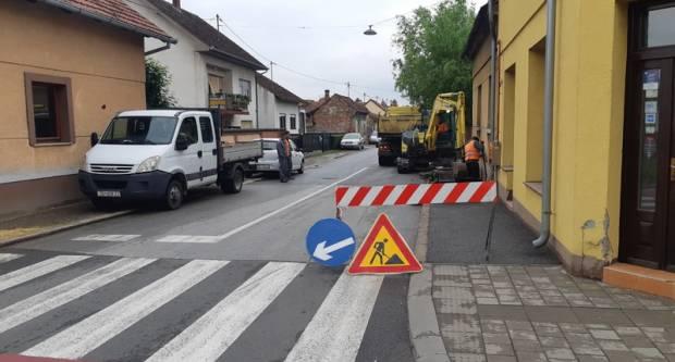 Započeli radovi na modernizaciji pješačke staze u Mostarskoj ulici