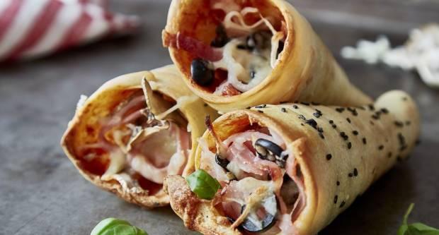 Najbolji topli sendviči: Recept za kornete od tijesta za pizzu
